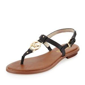 MICHAEL Michael Kors Black Sondra Sandal